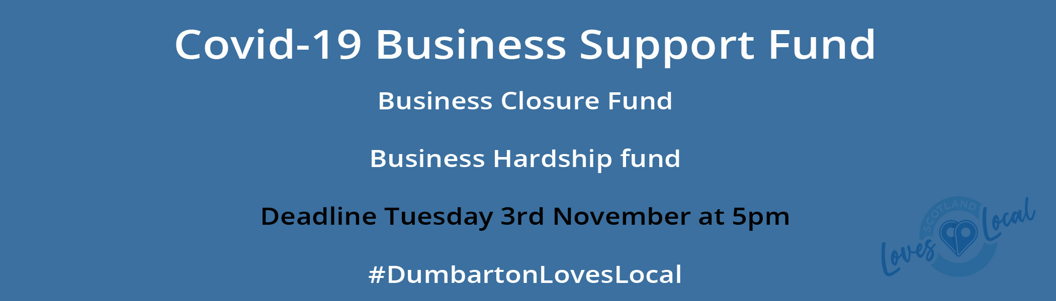 Dumbarton Covid-19 Business Support Fund